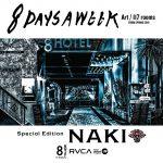 [RVCA]X[8HOTEL]のアートプロジェクト「8days a week」にアーティト・サーファーのNAKIが参加