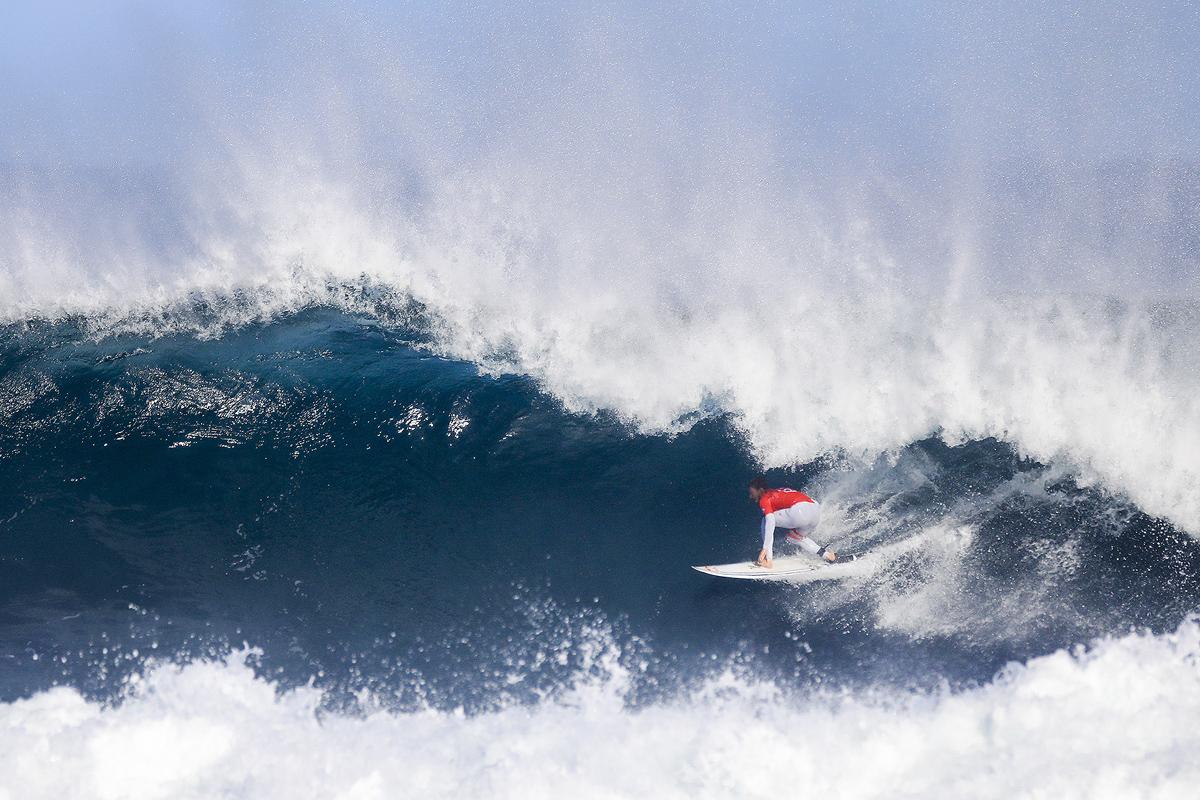 コロヘ・アンディーノが2位に。PHOTO: © WSL / Dunbar