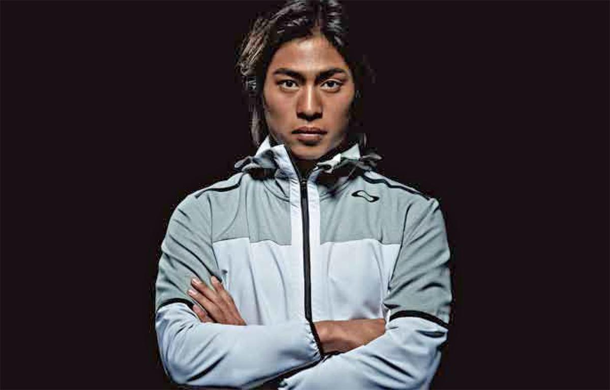 アイウェアとトレーニング・ウェアでオークリーの契約選手である加藤嵐