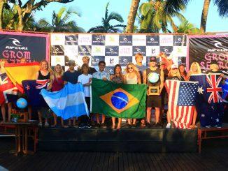 世界7ヶ国からクオリファイした16名の選手達。