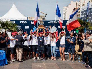 チーム・フランスが初の金メダル獲得 ISA_Ben_Reed