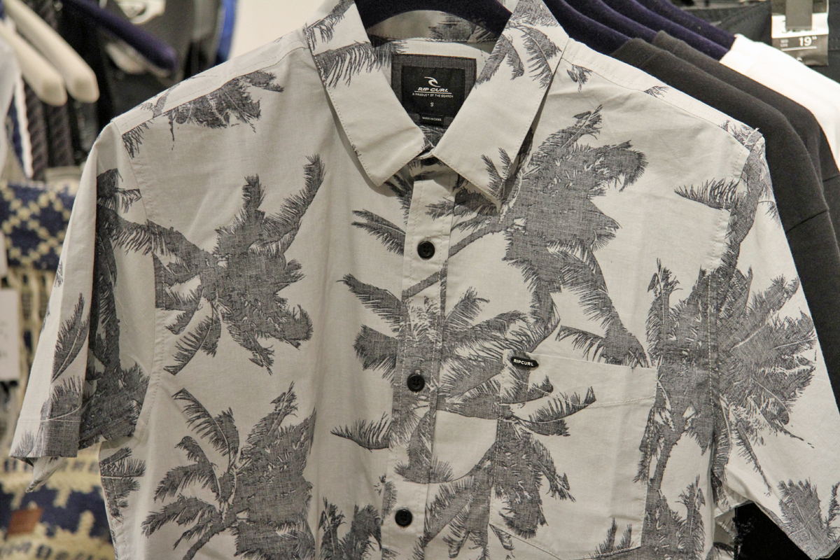 RIPCURL PALM TIME S/S SHIRTS