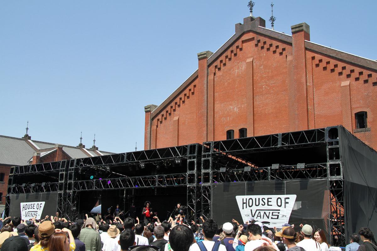 House of Vans at Greenroom Festival 特設ステージで2日間にわたり行なわれるSpecial Live
