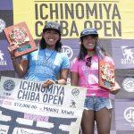 川合美乃里がQS3000優勝。9位の大原洋人はQS世界ランク2位へ。「 ICHINOMIYA CHIBA OPEN 」