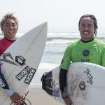 「いすみJAPAN SURFING TRIAL」終了。辻裕次郎、都筑百斗、都筑有夢路の3名が本戦行きのチケット獲得。