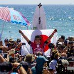 大原洋人がクローズアップ「Hiroto Ohhara: Japan's Rising Son 日本期待の星、大原洋人」WSLが掲載