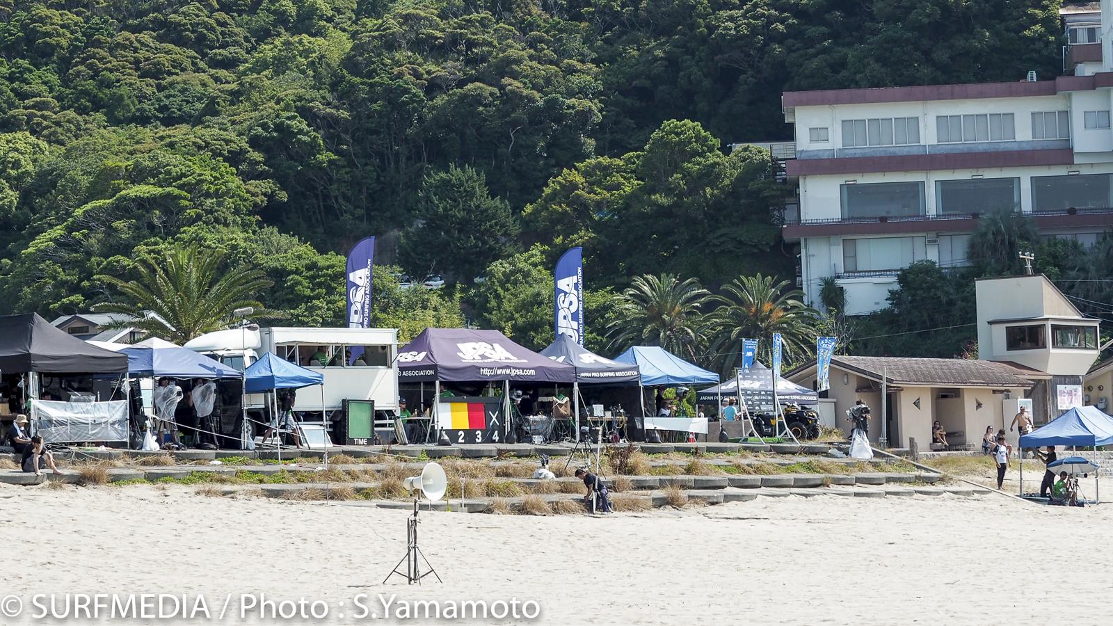 会場は白浜から多々戸へ移動。