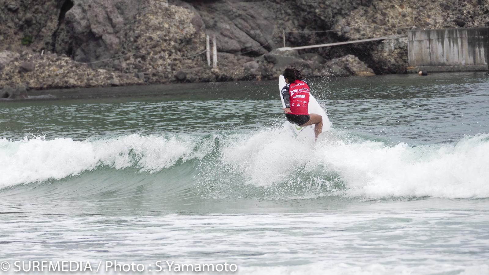 QFでは6.25の高得点で勝ち上がった川合美乃里