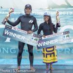 森大騎、田岡なつみが今季初優勝でランキングトップに! JPSAロング第3戦「太東ロングボードプロ」
