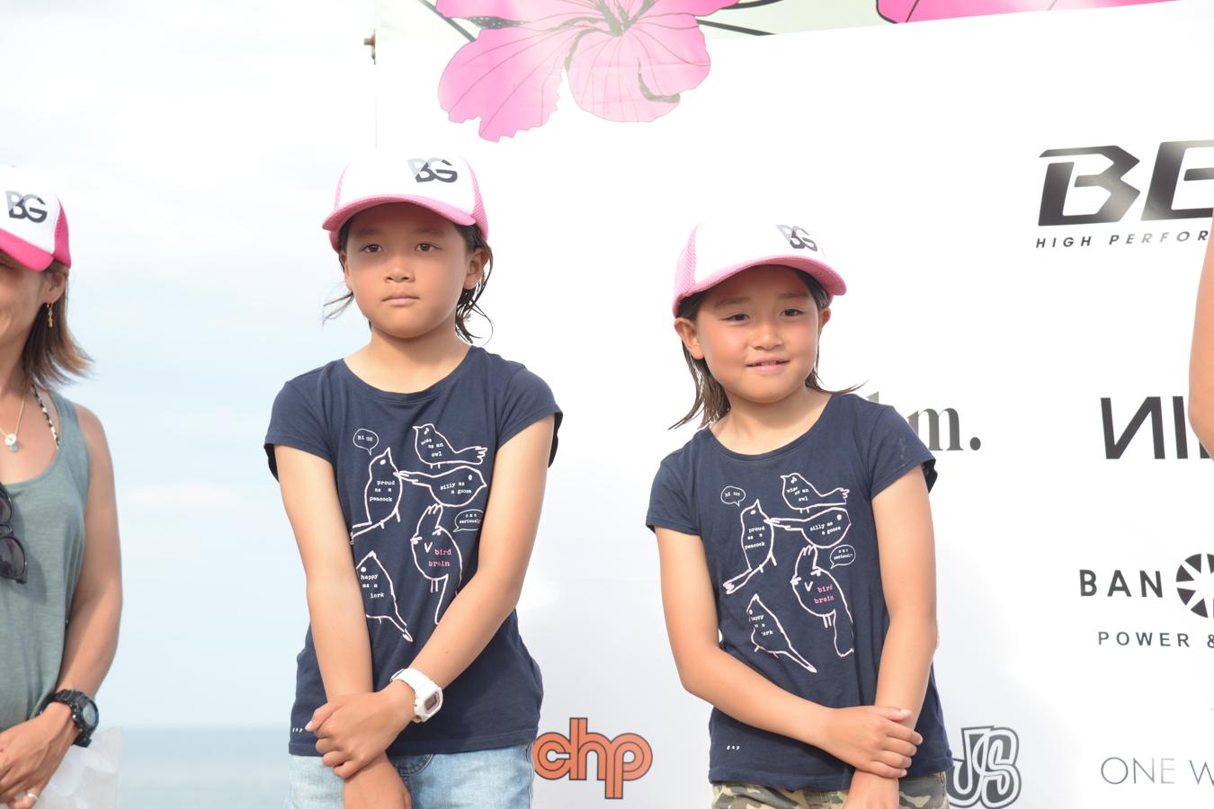 今回は姉妹でファイナルに残った池田美来ちゃん真央ちゃん。