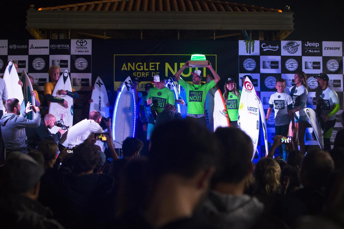 優勝したリップカール・チーム WSL / Guillaume Arrieta