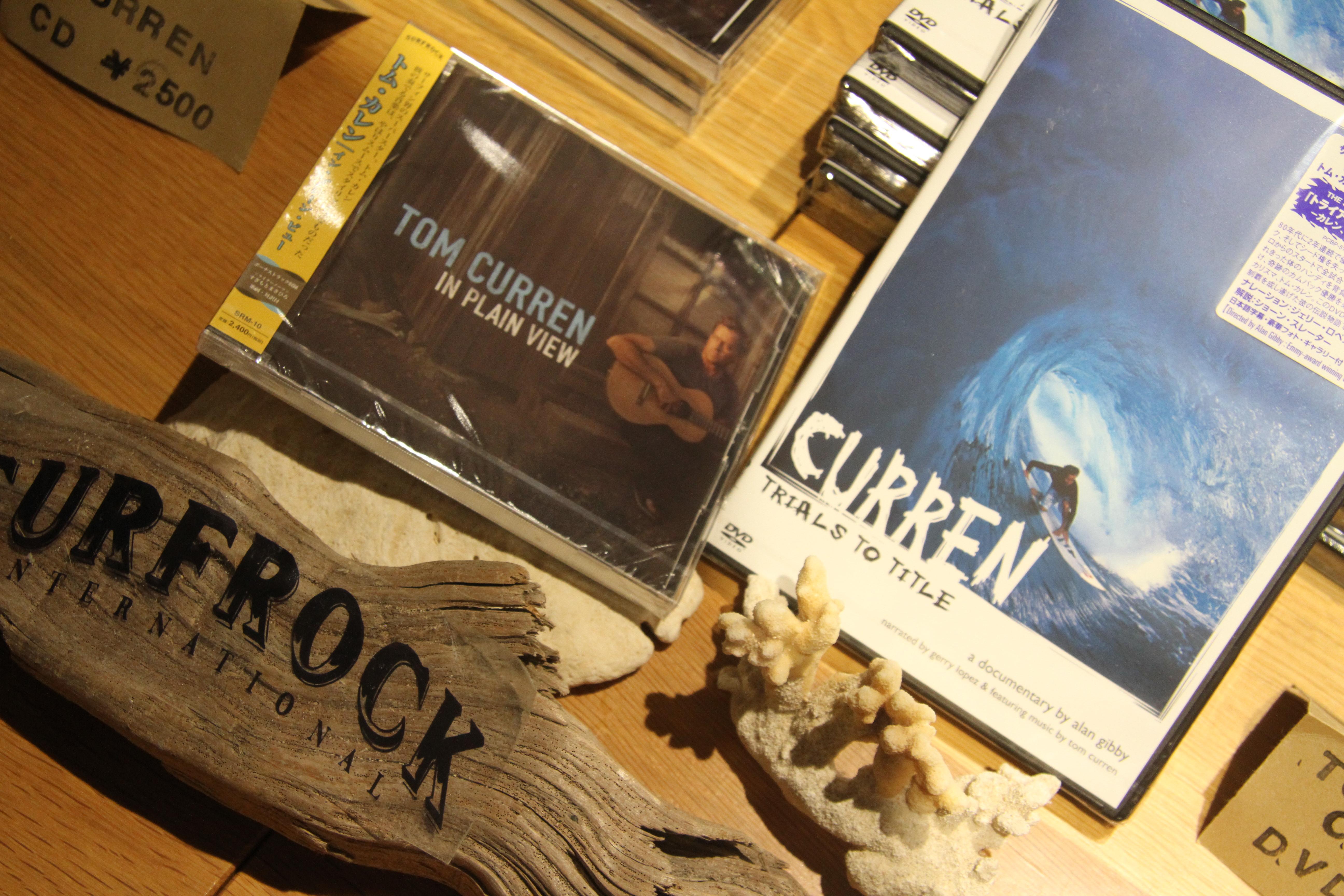 会場ではトム・カレンのCDとDVDも発売された。
