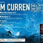 トム・カレンのジャパンツアー決定。「トム・カレン  End of Summer Tour featuring 西藤ヒロノブ」