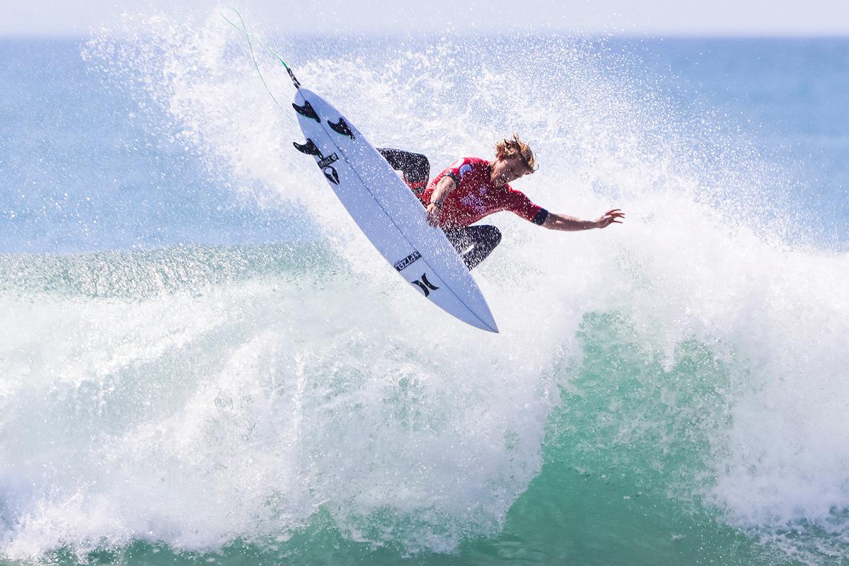 圧倒的なサーフィンを見せつけたジョン WSL / Kenneth Morris