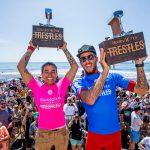 ブラジルのフィリーペ・トリードとシルヴァナ・リマがトラッソルズで優勝。カノア五十嵐は今季初5位