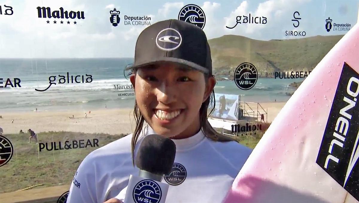 スペインのQS6000で9位となった川合美乃里。