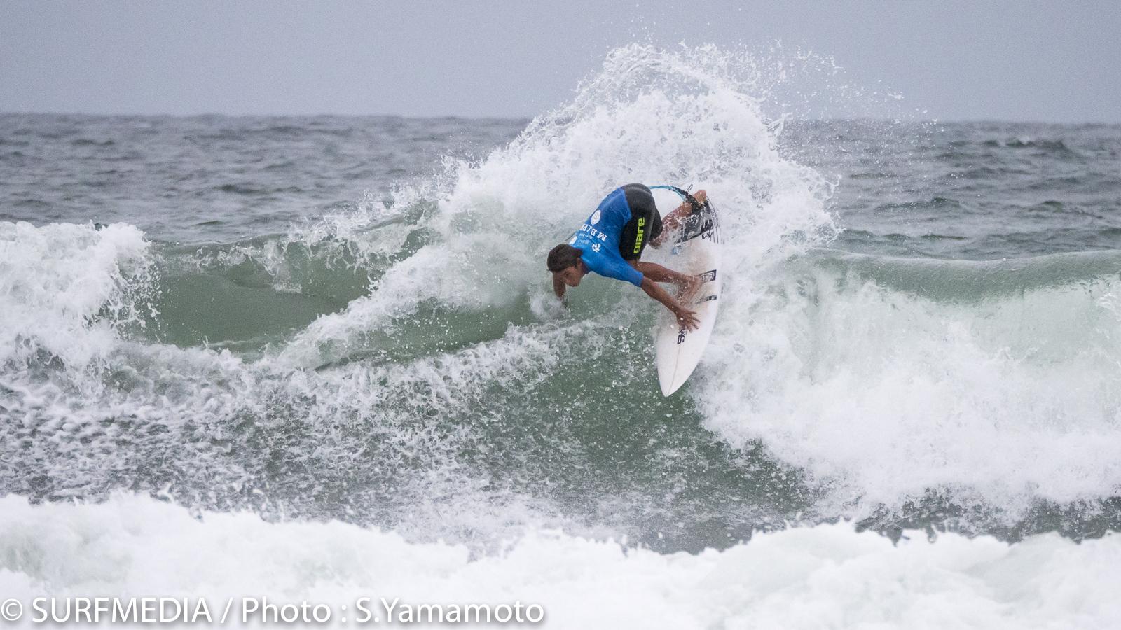 アジアランキング17位の金沢呂偉がセミファイナル進出。