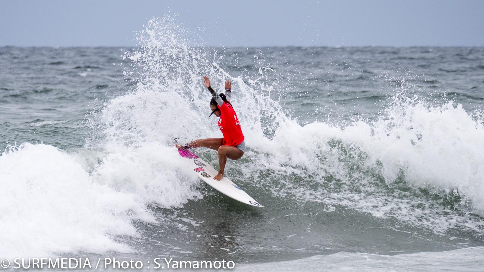 女子の最高点13.73を叩き出した脇田紗良はセミファイナル進出