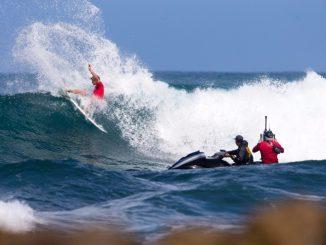 昨年のハワイアン・プロの勝者であるジョン・ジョン WSL / Freesurf / Heff