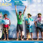ハワイアンCTサーファーのイズキール・ラウがHICプロで2度目の優勝、QS世界ランクも9位へ。