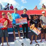 ミッチ・パーキンソン(AUS)優勝。和井田理央(IND)WSLアジア・チャンピオンに決定。村上舜5位。