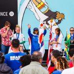 内田一音がウイメンズで初の金メダル獲得。日本チームは総合9位。アダプティブ・サーフィン世界選手権