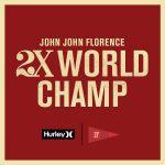 ジョン・ジョン・フローレンスの2Xワールドタイトル獲得を記念した4日間限りセール開催
