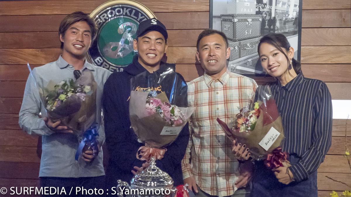 先輩グラチャンの河野正和と同じBEWETチームから3名のグランドチャンピオンが誕生。