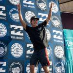 グリフィン・コラピント(USA)が、カリフォルニア・サーファーとして初のトリプルクラウンを獲得。