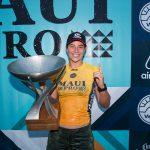 タイラー・ライト(AUS)、マウイ・ウイメンズ・プロで2年連続となるWSLワールド・タイトルを獲得