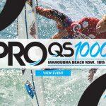 オーストラリアのマルーブラでWSL男女QS1000イベント「Carve Pro」が明日から開幕。