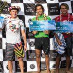フィン・マギルとガブリエラ・ブライアンのハワイアン・ペアが「サンセット・プロ・ジュニア」で優勝