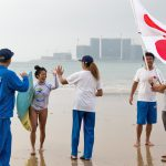 田岡なつみR3進出。権守賢治RP3進出。2018 ISAワールド・ロングボード・サーフィン・チャンピオンシップ