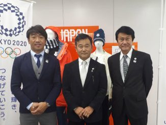 写真左からJPSA牛越氏、NSA酒井氏、WSLジャパン近江氏。