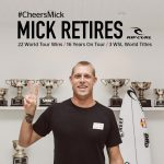 3Xワールド・チャンピオンのミック・ファニングがWSLワールド・ツアーからの引退を表明。#CheersMick