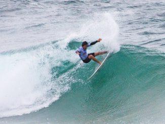 トップ通過を果たした大橋海人 WSL / Matt Dunbar