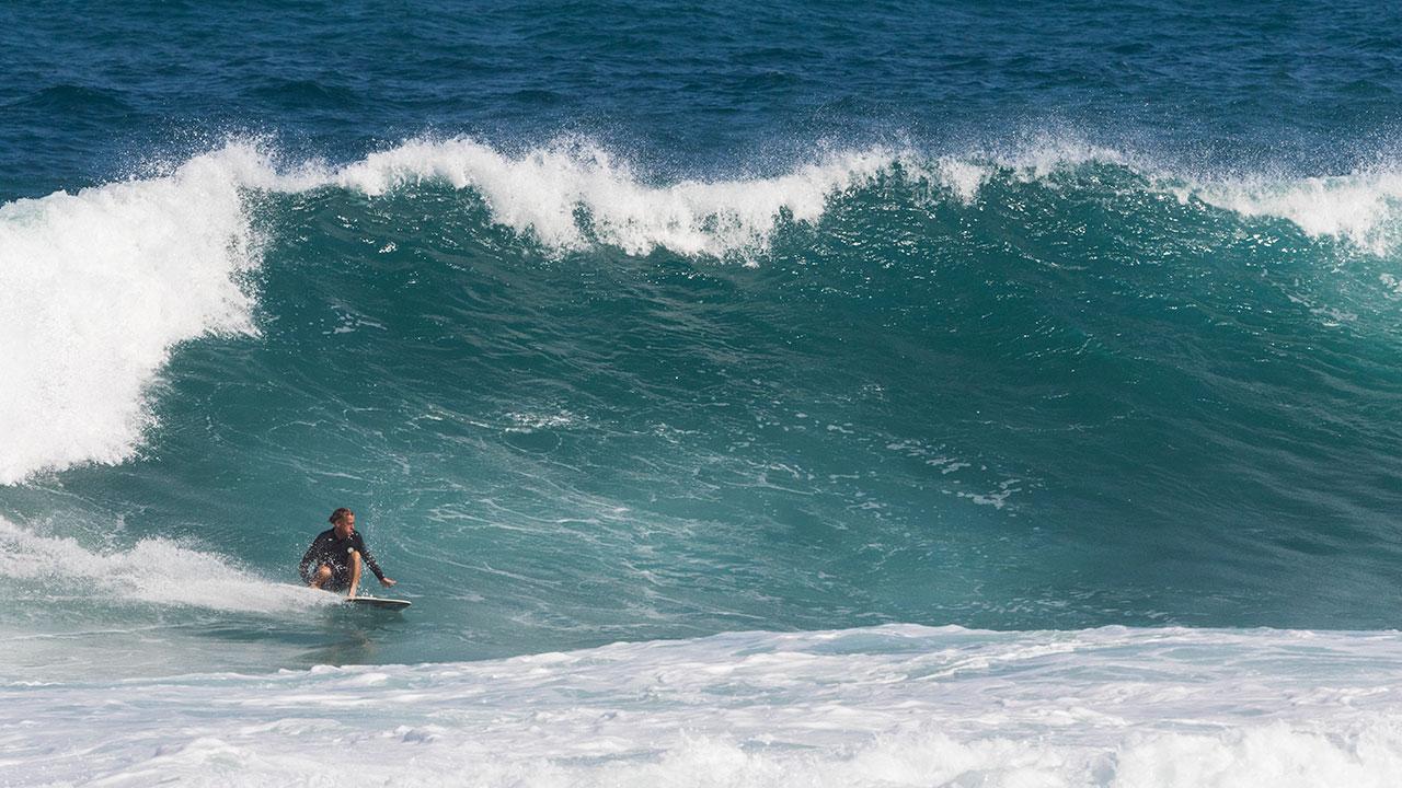 旅の中心人物となったトム・カレン Photos: Dave Sparks/Rip Curl