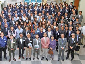 株式会社サンコー創業50周年記念講演、祝賀パーティに集まった方々