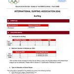 国際オリンピック委員会とISAは、東京2020に於けるサーフィン競技の資格認定プロセスを発表