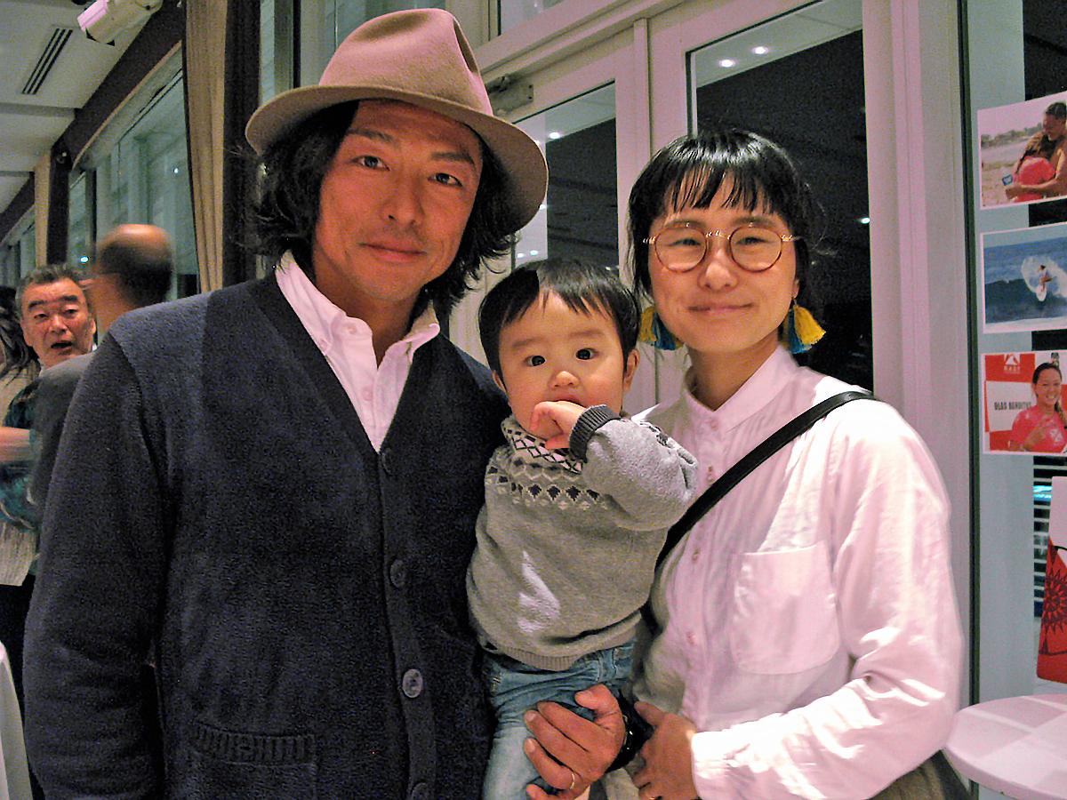 SUPの世界戦出場選手でもある原田俊広さんとご家族も