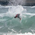 2018年度サーフィン強化指定選手 国内強化合宿の2日目が千葉県鴨川市東条海岸マルキポイントで開催。