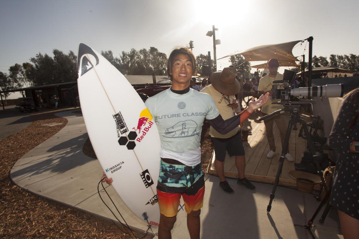 サーフランチで4位となったカノア五十嵐 WSL / Steve Sherman