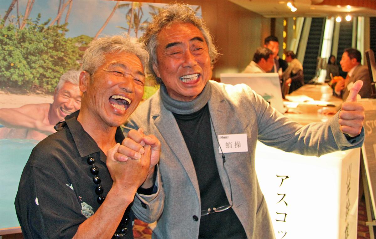 今回のハワイ撮影に同行した蛸操氏。