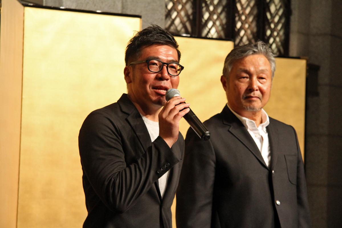 映画を監督したPARUO氏とディレクターの井澤 聡朗さん
