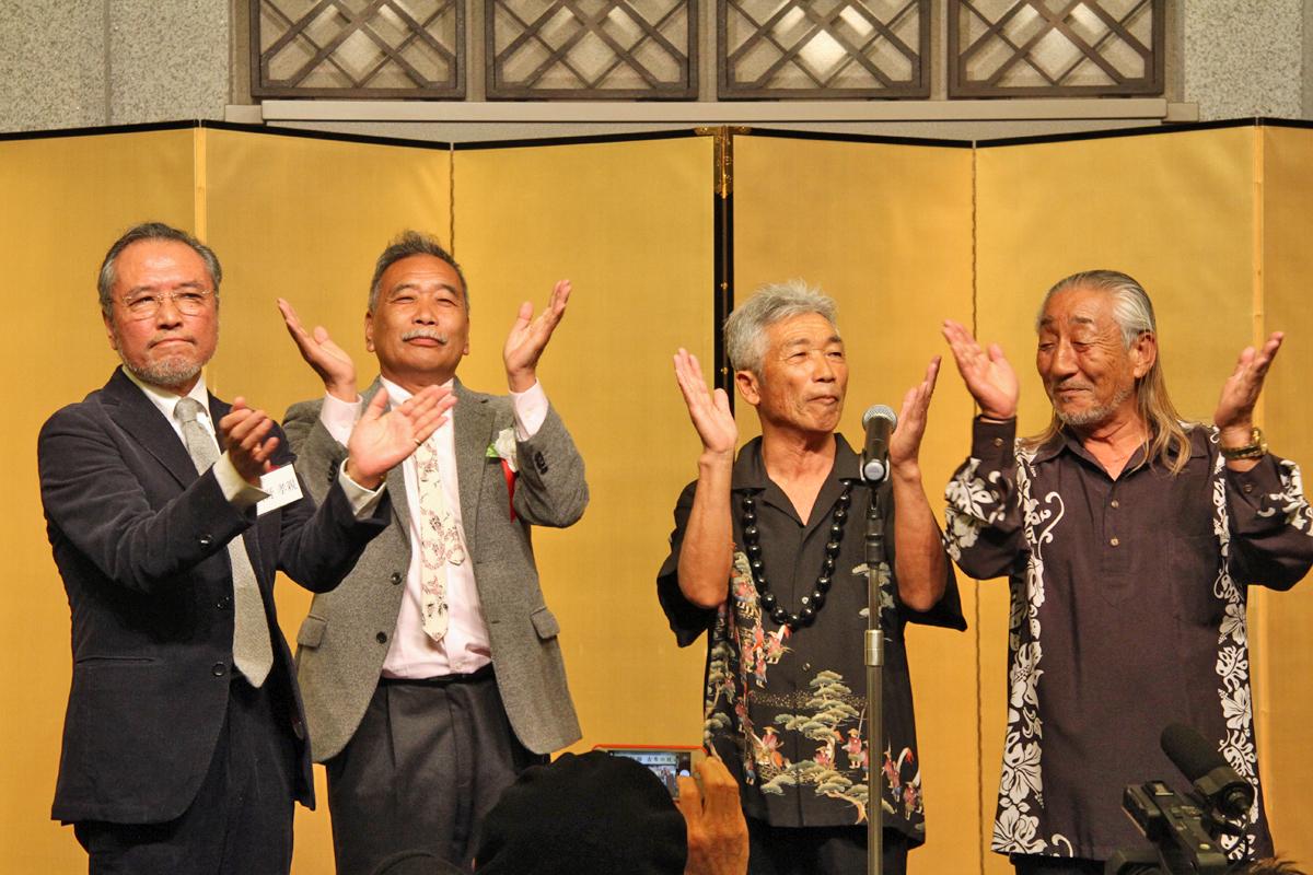 最後はヨッチャンこと桜井喜夫さんの3本締め。