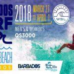 カリブ海のバルバドスで開催のWSL男女QS3000「バルバドス・サーフ・プロ」に多くの日本選手が参戦