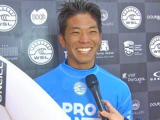 1位で勝ち上がった西慶司郎