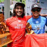 インドネシアのオニー・アンワーと和井田理央がワンツーフィニッシュ。WSL男子QS1500「Krui Pro 2018」