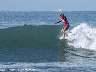 「浜瀬海くんに刺激を受けました」とショートボード公認プロの西口京佑がロングプロ公認獲得