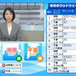 テレビのデータ放送で波情報。tvk(テレビ神奈川)が湘南と千葉54箇所の『波情報』を公開決定!